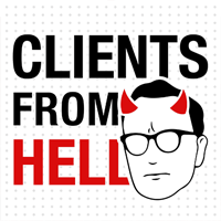 Clients From Hell podcast logo